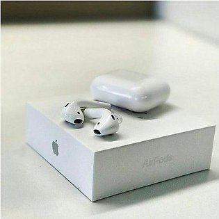 Air Pods Earbuds Noise Reduction Pop-ups Tap control 1:1 Bluetooth 6D Stereo ...