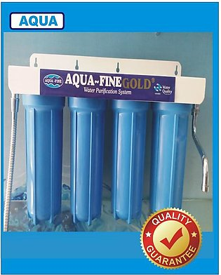 Water Purifier Four Stages Water Filter With Water Softener