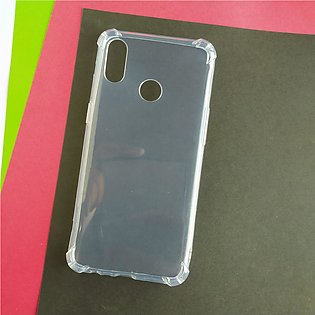 Real Me 3 - High Clear Bumber Case - Corner Protection Silicone Cover - Case