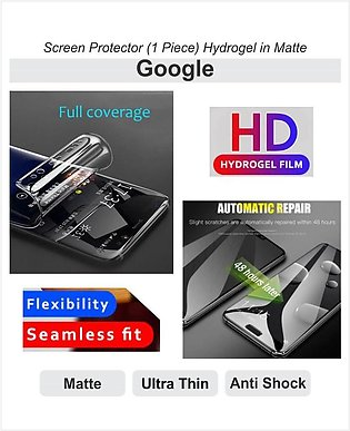 Screen Protector In Matte - Hydrogel Film - For Google Phone Models