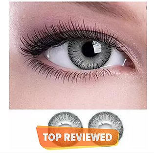 Grey Eye Lens For Women With Water And Kit - Quality Lens - All Colors Available