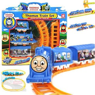 Adorable Train Set In Different Characters For Kids