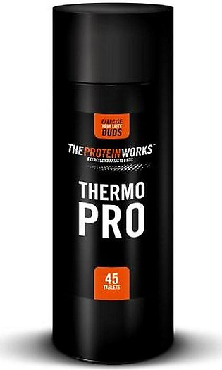 The Protein Works Thermopro - Fat Burner For Weight Loss - 45 Caps
