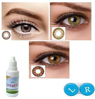 1pair Color Contact 7 Day Lenses For Eyes Contacts With Color Lens Eyes Blue Gr…