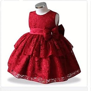 Formal Frock For Baby Girl Red