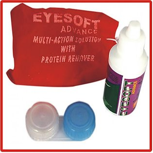 Eye Soft Advance Multi-action Solution With Protein Remover For Lens (lens Cove…