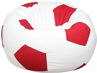 Relaxsit Queen Size Football Fabric Bean Bag - Luxury Room Furniture Size 50 X …