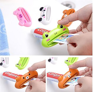 Cartoon Shape Toothpaste Tube Squeezer - Kids/toddlers Toothpaste Rolling Holder