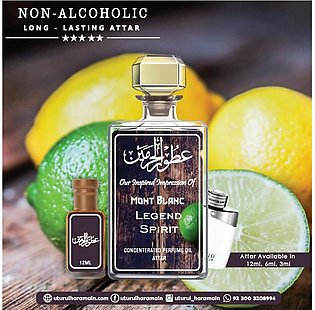 Mont Blanc Legend Spirit - Attar (roll On Perfume Oil) - ( Long Lasting Concent…