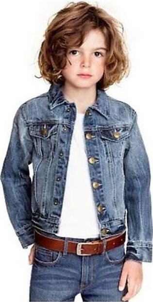 Winter Denim Jacket For Baby Or Baba (2 To 10 Kids)