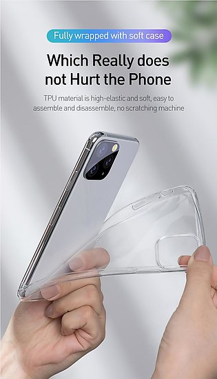 Baseus High Transparent Silicone Case For Iphone 11 Pro Case Ultra Thin Soft Tp…
