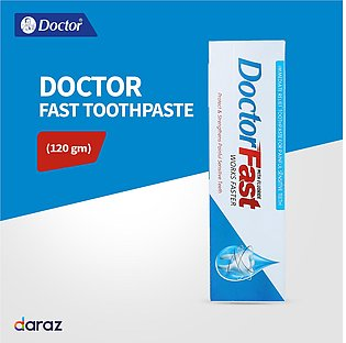 Doctor Fast Tooth-paste 120 Gm