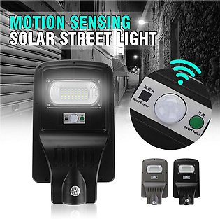 30W Solar Street Wall Light 40LED 5630SMD Floodlight Waterproof IP65 Human Moti…