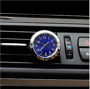 Car vent perfume clock electronic watch time creative car crystal ornaments ins…