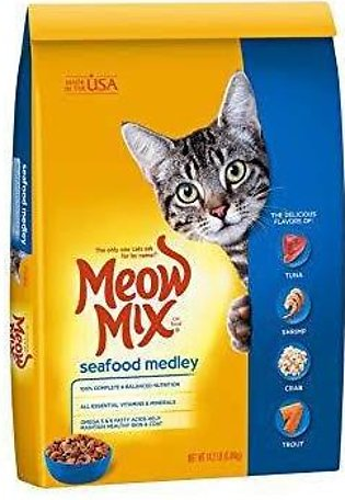 Meow Mix Seafood Medley Cat Food 6.4kg