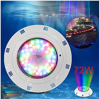 【Special Offer】72W 72 LED RGB Underwater Pond SPA Swimming Pool Bright Light w/…
