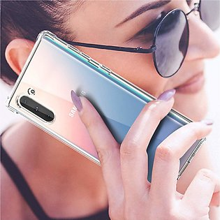 Samsung Galaxy Note 10 Transparent Crystal Clear Case