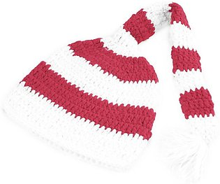 Baby Girl Boy Christmas Xmas Crochet Knit Photo Photography Prop Hat Cap-red wh…