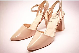 Pointed Toe | Women's High Heel Sandals | Fawn | The A shoes