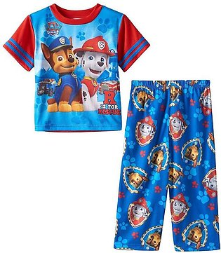 Children'S Summer Child Set Paw Patrol Boy Short Sleeve Trousers Two Set Childr…
