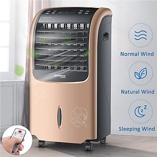 Portable Air Conditioner Water Cooling Cooler Fan Humidification Heater Cold He…