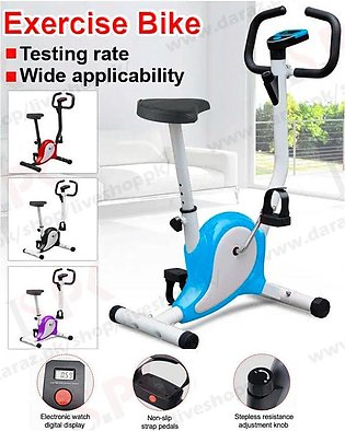 Home Exercise Fitness Bicycle, Magnetic Stationary Fitness Cardio Cycle