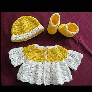 Baby Crochet Dress High quality crochet for both BABY and BABA