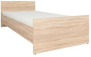 "Revival Simple Single Bed - 78""x42"" (Without Mattress)"