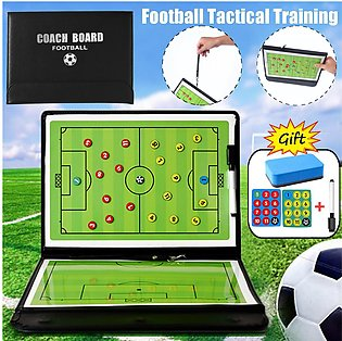 Football Training Board Magnetic Marker Pen Tactical Sided Strategy Match Train…