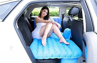 Car Back Seat Cover Auto Accessories Inflatable Mattress Car Bed with Air Pump …