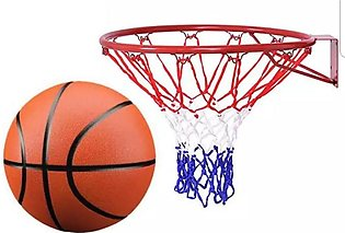 basket ball ring and net