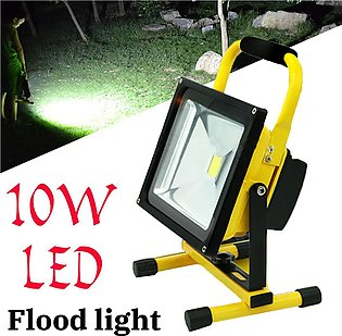 【Special Offer】10W Rechargeable Led Flood Light Waterproof IP65 Portable Outdoo…