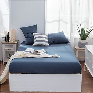 Cotton Jersey Fitted Bed Sheets