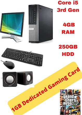 Gaming Complete Desktop PC -  7010 SFF - Core i5 - 3rd Gen - 4GB RAM DDR3
