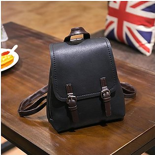 Pu Leather College Girl Backpack Popular Women Backpack Luxury Handbags Women B…