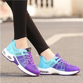 Fashion Women Mesh Casual Outdoor Sport Shoes Runing Lace-Up Shoes Sneakers Ms.…