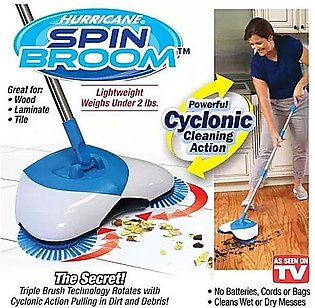 Sweep Drag All - In - One No Electricity Spin Broom