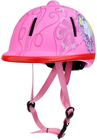 Children Kids Adjustable Horse Riding Hat/Helmet Head Protective Gear - Snow Pi…