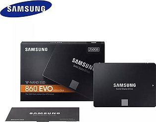 SAMSUNG SSD 860 EVO 250GB Internal Solid State Drive SATA 3 6Gbps  2.5Inch for …