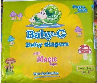 Baby-G Baby Diapers With Magic Tape