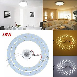 33W (15w+18W) LED light Fluorescent Circular Tube replacement for Oyster Ceiling