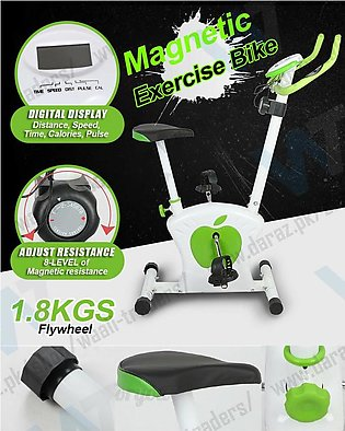Silence Magnetic Control Exercise/Fitness Bike for Indoor Cardio Workout