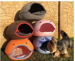 Easy Make cat House - For Kittens With Soft Pillow