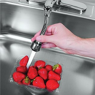 Hands Free Turbo Flex 360 Instant Faucet Sprayer - Extension with Jet Stream an…