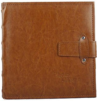 Leather Pu Leather Large 6 Inch Photo Album 200 Inlay Photo Album Booklet