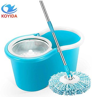 Home Magic Floor Mop Stanless Steel Bucket 360 Degree Head