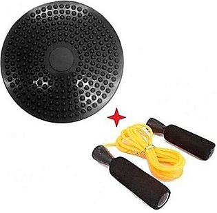 Twister Disc With Free Low Bearing Jump Rope