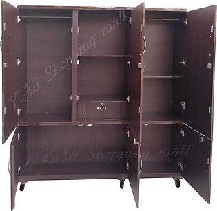 6x6 Feet Large Wooden Lamination Sheet Wardrobe Cupboard Almari ( cabinet Shoe …