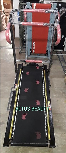 High Quality Manual Roller Treadmill With Twister For Home Use  - 30 Rollers