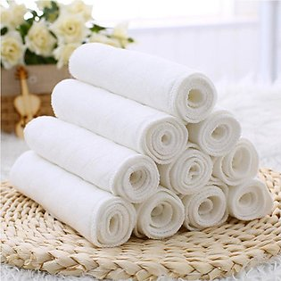 10pcs Disposable Baby Diapers Bamboo Eco Cotton Diapers Baby Nappy Liners
